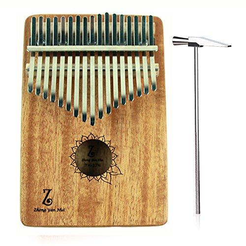 Instrument Body - Thumb Piano 17 keys Kalimba African Mahogany Mbira Finger Piano Mahogany Body Music Instruments Gift