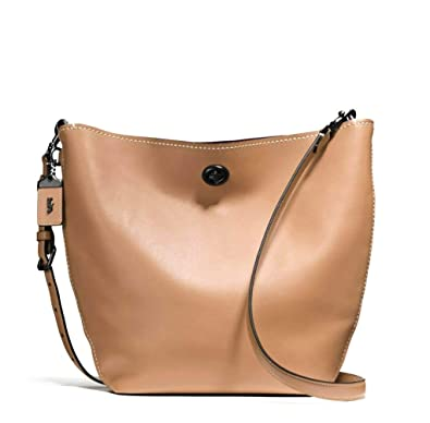 c581598ee Image Unavailable. Image not available for. Color: Coach 58017 GloveTanned Leather  Duffel Shoulder Bag ...