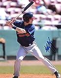 Signed Matt Lipka Photo - At Bat 8x10 W coa - Autographed MLB Photos