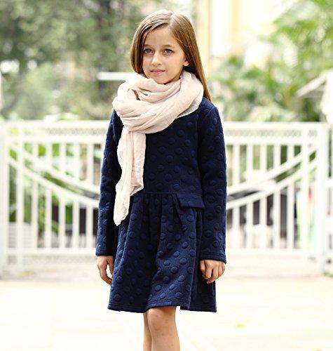 942b1abe3 Aurora AuroraBaby Little Big Girls Casual Thick Warm Dresses Size 7 ...