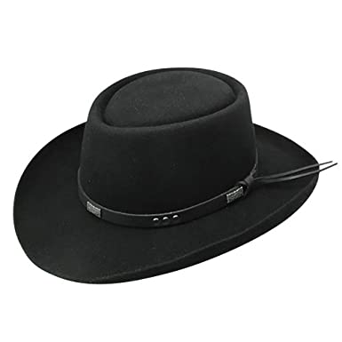 f11ddae991e85 Stetson Dice - Wool Gambler Hat at Amazon Men s Clothing store