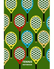 Tennis Notebook: Daily Tennis Practice Log Book, Tennis Notebook For Athletes And Coaches, Score Notes Keeper,Tennis Player Gifts.
