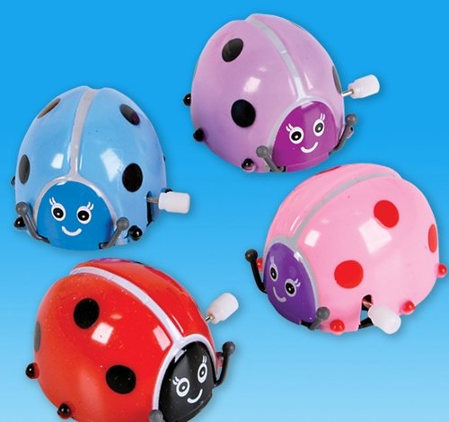 2'' WIND-UP LADYBUG, Case of 288