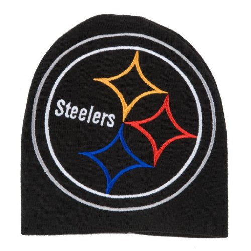 Reebok Embroidered Cap - PITTSBURGH STEELERS NFL Cuffless Oversized