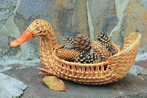 Woven Handmade Wicker Willow Basket