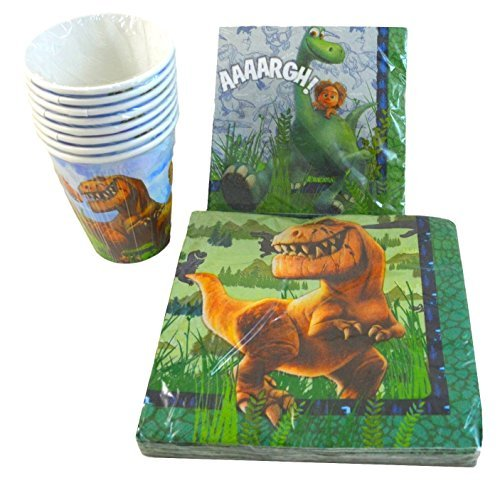 The Good Dinosaur Napkins and Paper Cups Party Pack - Service for 8