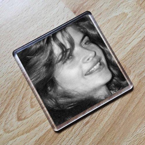 KIRSTIE ALLEY - Original Art Coaster #js001