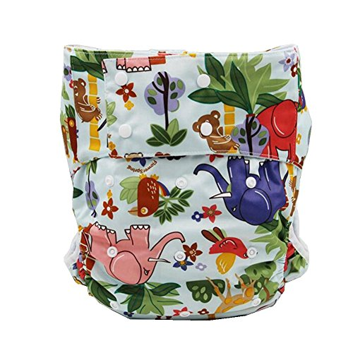 LukLoy - Adults Cloth Diapers Nappy with 1pc Insert for M...