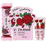 Tonymoly Sheet Mask And Hand Cream Box Set, I'm Rose