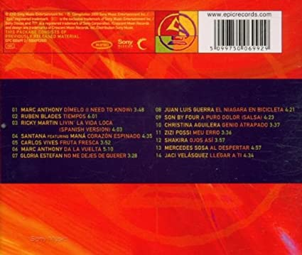 2000 Latin Grammy Nominees: Various Artists: Amazon.es: Música