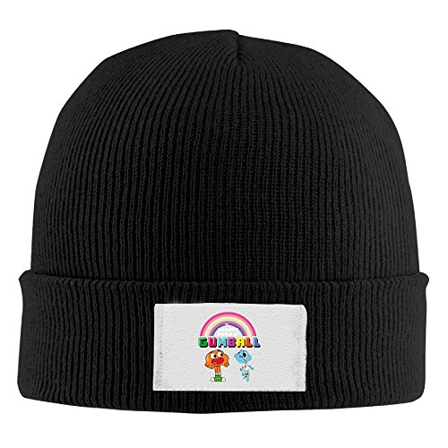Creamfly Adult The Amazing World Of Gumball Rainbow Wool Watch Cap -