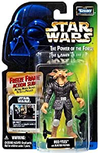STAR WARS THE POWER OF THE FORCE- REE- YEES with BLASTER PISTOLS and FREEZE F...