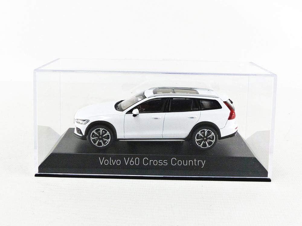 Norev 870026 Compatibile con Volvo V60 Cross Country Bianco 2019 Scala 1:43 Modellino Auto