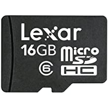 Lexar microSDHC 16GB Mobile Flash Card LSDMI16GASBNAC6