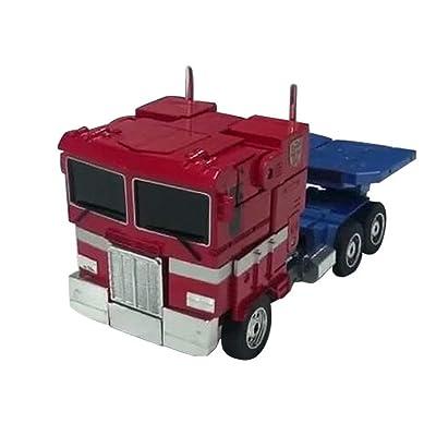Transformers Optimus Prime, Automorph Remote Control Model Heroes, Transformers Rescue Bots Optimus Prime Figure Ction For Kid Boy: Home Improvement