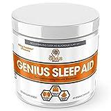 GENIUS SLEEP AID – Smart Sleeping Pills & Adrenal Fatigue Supplement, Natural Stress