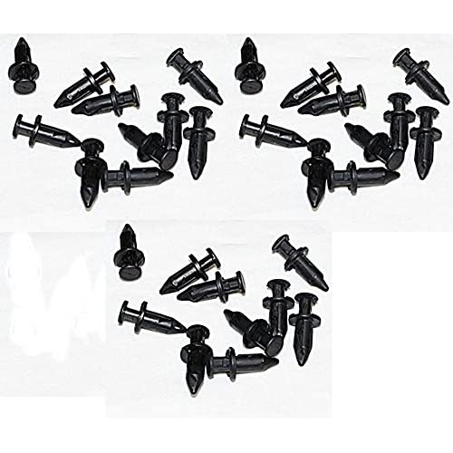 New 30 Pack of OEM Polaris Plastic Fender Clips / Body Rivets 7661855