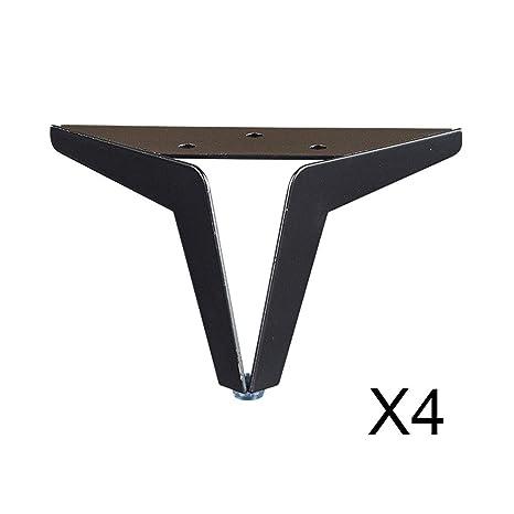 Furniture legs (foot) 4 * Patas de Soporte metálicas - sofá ...