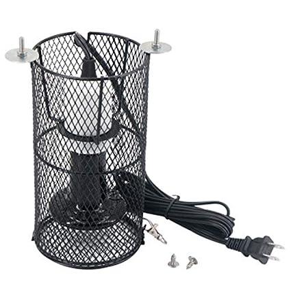 SODIAL Lámpara de Calefacción para Mascotas Loro Tortuga Reptil ...