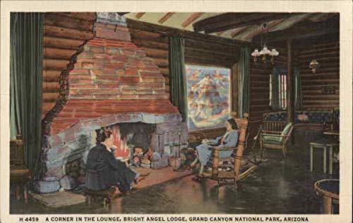 Bright Angel Lodge Grand Canyon National Park Original Vintage Postcard