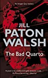 Front cover for the book The Bad Quarto by Jill Paton Walsh