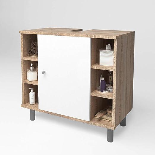 bonne réputation utilisation durable la clientèle d'abord Oskar Vicco Meuble de lavabo Fynn Meuble de Salle de Bain Sonoma