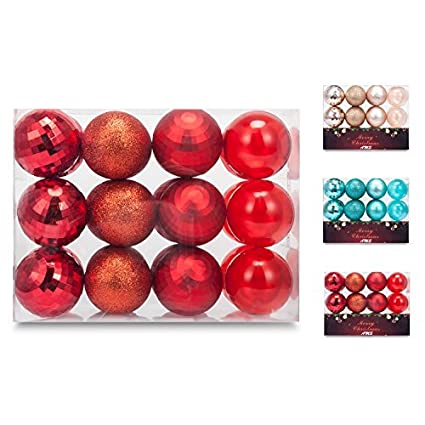 ams 60mm236 christmas ball pierced trees pendant shatterproof ball ornament seasonal decorations - Christmas Ball Decorations