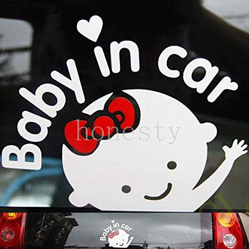 Price comparison product image New Baby on Board Sticker Vinyl Decal Car Laptop Window Wall Bumper Decor Gift 2