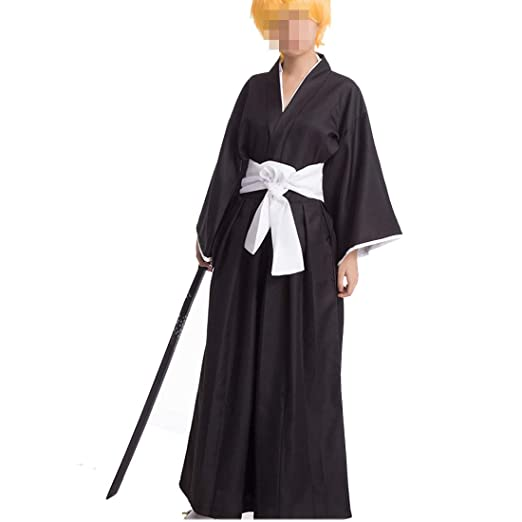 ZY BleachCOS Costume Cosplay Bleach Costume Traje de la ...