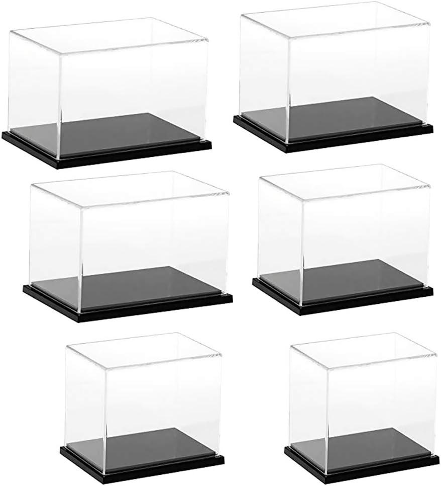 T TOOYFUL Bo/îte De Pr/ésentation en Acrylique Transparent Mod/èle De Voiture Jouet /étanche /à La Poussi/ère 30x20x20cm