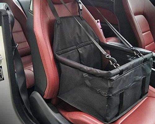 EEvER Confortevole Confortevole Confortevole Letto per Animali Lavabile Tasca portaoggetti da Viaggio in Rete Impermeabile con Custodia per Auto da Viaggio e Cerniera 408d78