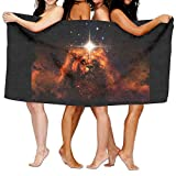 Galaxy Lion 100% Polyester Bath Towel Ultra Absorbent And Eco-Friendly