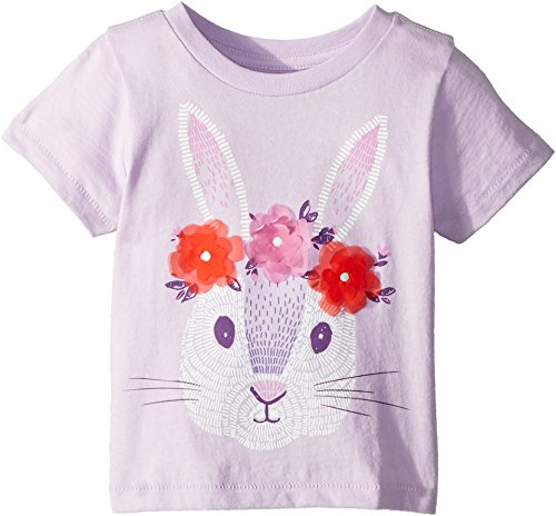 Peek… Baby Girl's Hip Hop Hooray Tee (Infant) Lavender LG (12-18 Mos) by Peek...