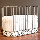 Cheap Bratt Decor j'adore crib-cradle pewter