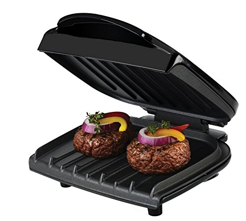 George Foreman GR0036B Electric Grill,Black,36 Sq. In. Cooking Surface