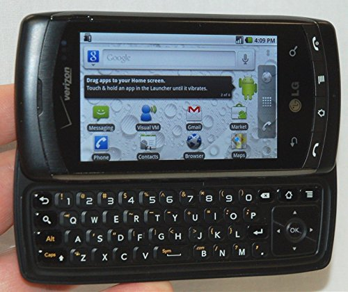 roid Verizon Cell Phone Bluetooth Web Droid Touchscreen Slide Out Keyboard ()