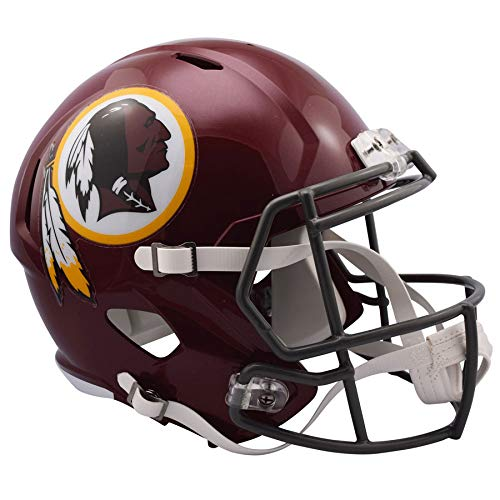 (Washington Redskins 2016 Tribute Officially Licensed Speed Full Size Replica Football Helmet)
