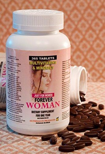 Multivitaminas Forever Woman 365 tabletas para todo un ao. Especialmente para la mujer, Combaten