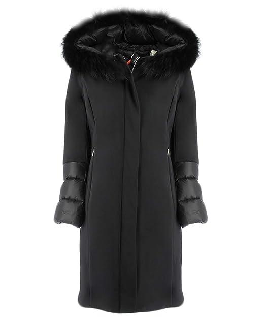 Rrd Piumino Nero Winter Hybrid Zarina Lady Fur T 50: Amazon