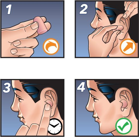 HEAROS Ultimate Softness Tan Ear Plugs, For The Softest Foam Earplugs NRR 32 Hearing Protection 100 Pair by Hearos (Image #4)