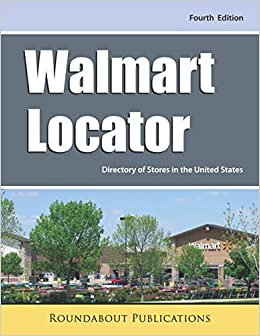 Walmart Locator Fourth Edition Directory Of Stores In The United - Map-of-walmart-stores-in-us