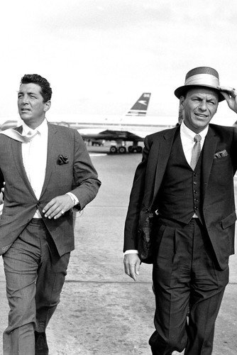 Frank Sinatra & Dean Martin Come Fly With Me Rat Pack iconic