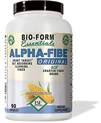"Alpha-Fibe ""Original"" ACD Fat Absorbing Slimming Fiber (90 Fast-Acting Capsules) 100% Pure Alpha-Cyclodextrin"
