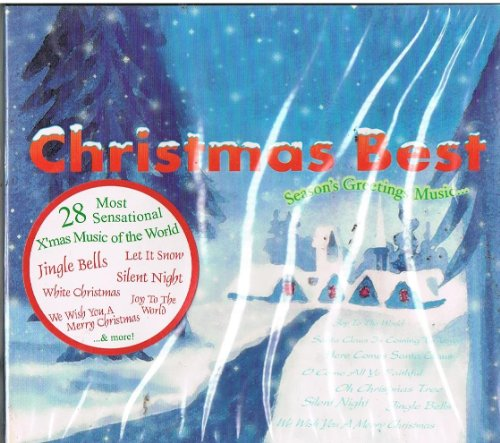 Christmas Best Season's Greetings Music CD Format (Best Chrismas Songs)