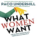 What Women Want: The Global Marketplace Turns Female Friendly Audiobook by Paco Underhill Narrated by Mike Chamberlain