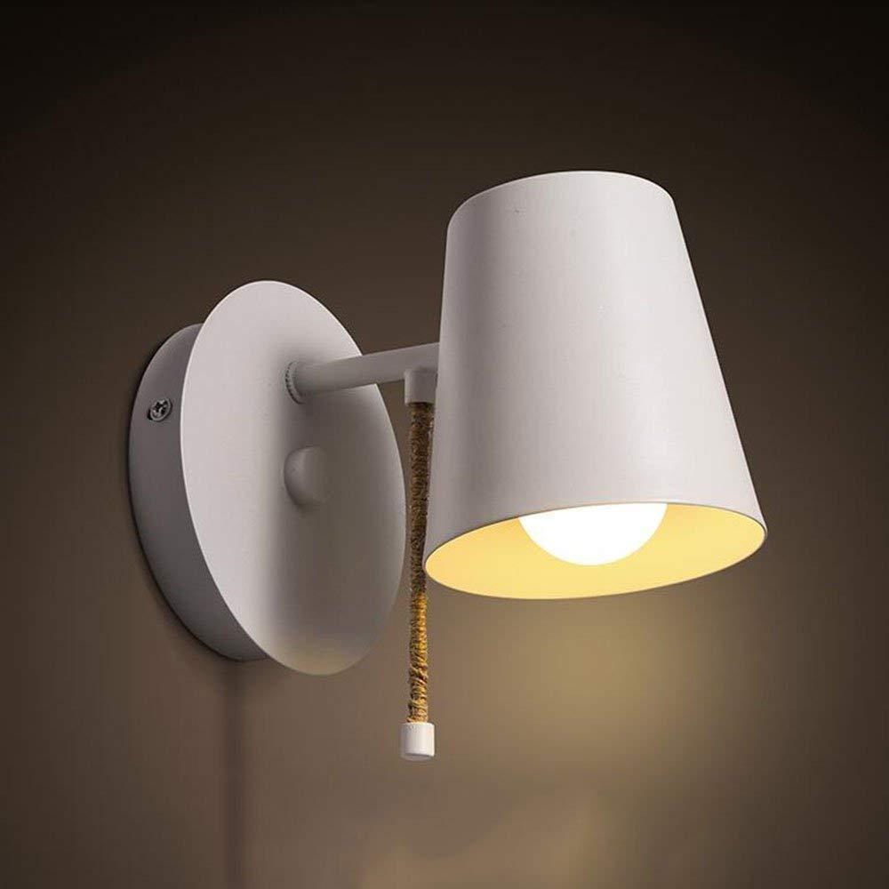 Moderne, einfache Wand-Eisen-Lampe, der Bett-Empfang Hall Walk Wall Lamp (Farbe   -, Größe   -)
