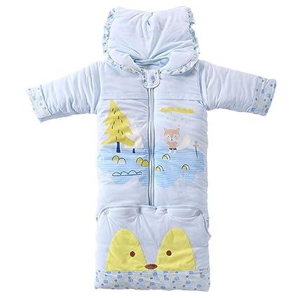 Gleecare Saco de Dormir para bebé,Engrosamiento Neonatal niños y niñas Las Patadas Son Manga