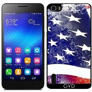 Funda para Huawei Honor 6 - América Nosotros Bandera by WonderfulDreamPicture