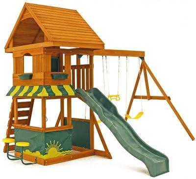 Big Backyard KidKraft Magnolia Cedar Wood Swing Set / Playset F23290