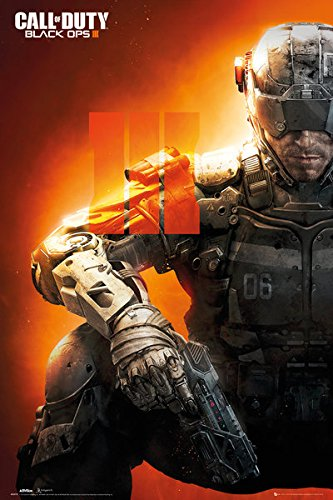 Call Of Duty: Black Ops III - Gaming Poster / Print Soldier & Strip